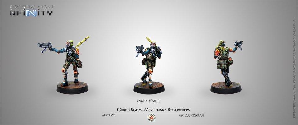 Inf - NA2 - Cube Jägers, mercenary recoverers