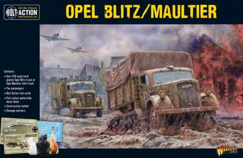 BA - German - Opel Blitz/Maultier