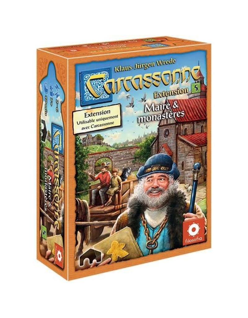 Carcassonne ext. 5 : Maires & Monastères