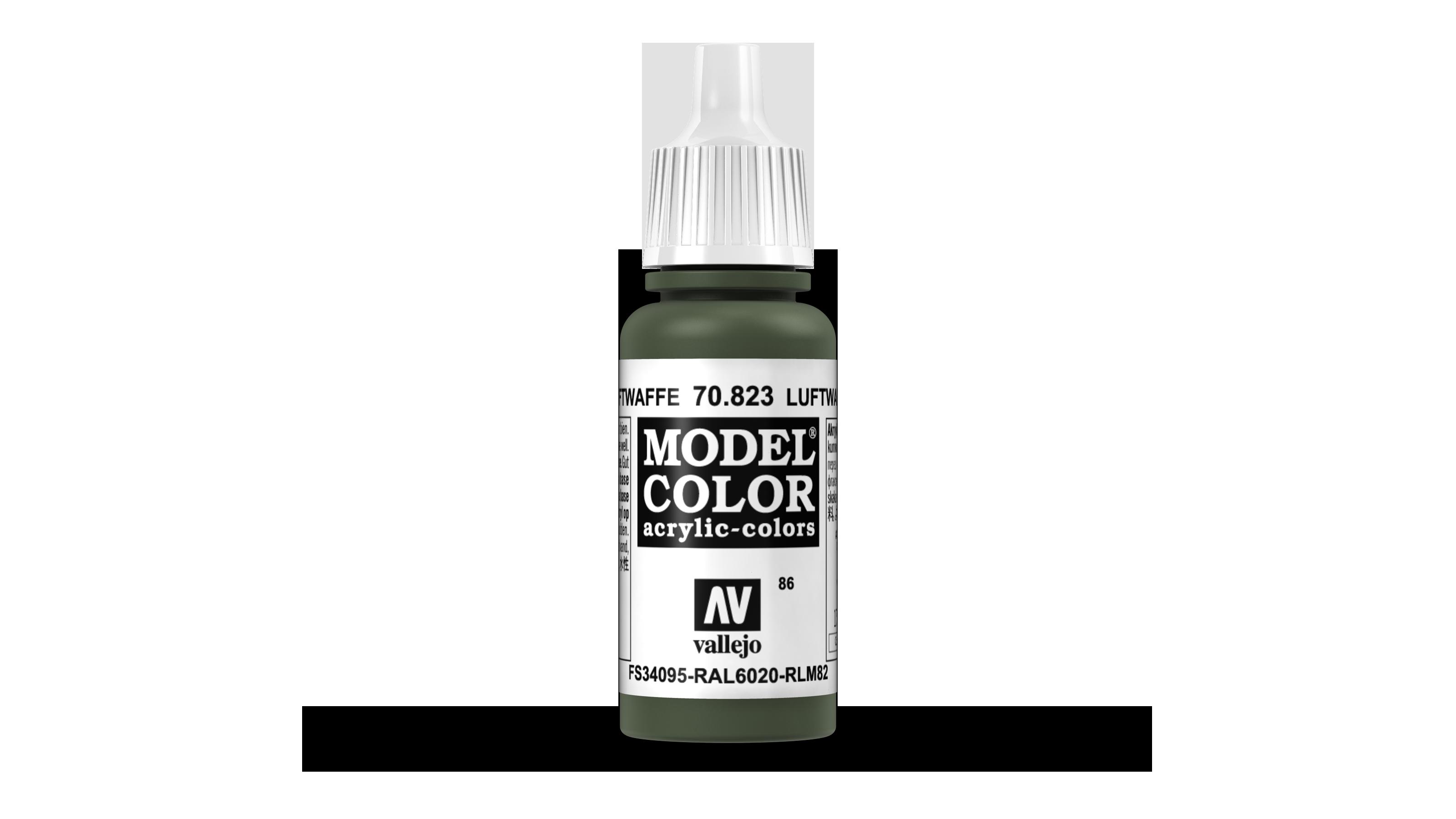 Model color -Luftwaffe cam. green