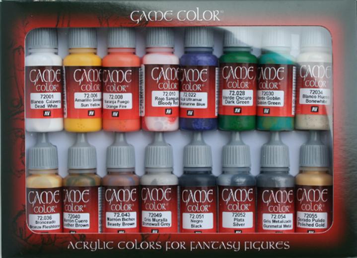 Game color Introduction set