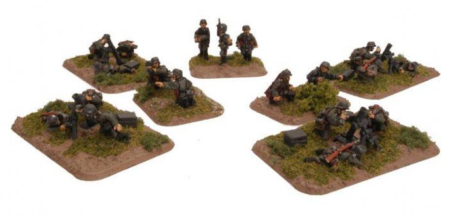 FoW - GER - Mortar platoon