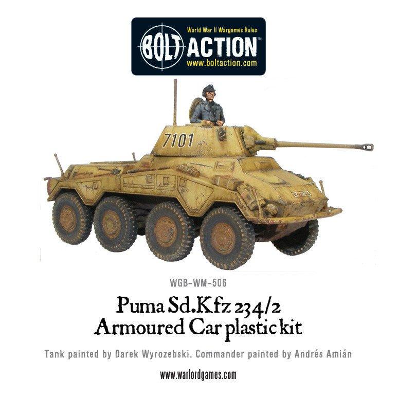 BA - Puma, SD. KFZ 234/2 armoured car