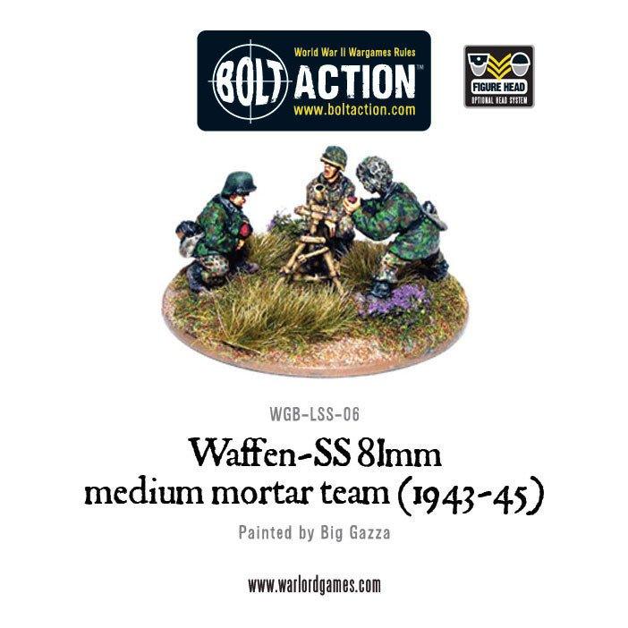 BA - Waffen-SS 81mm Medium mortar team