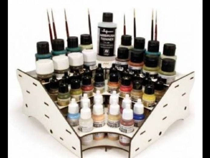 Paint stand - Corner module