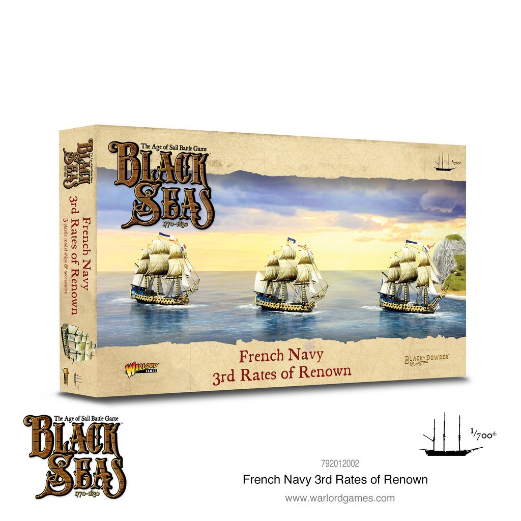 Black seas : French Navy 3rd rates of renown