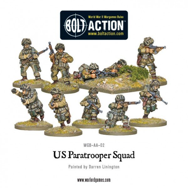 BA - US - Paratrooper squad
