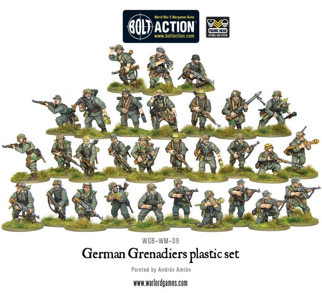 BA - German - German grenadiers
