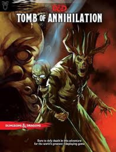 D&D next - Tomb of annihilation