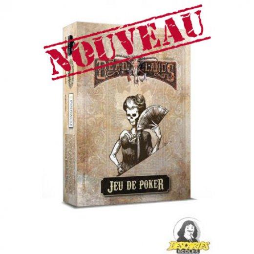 Deadlands: Jeu de Poker Blanc