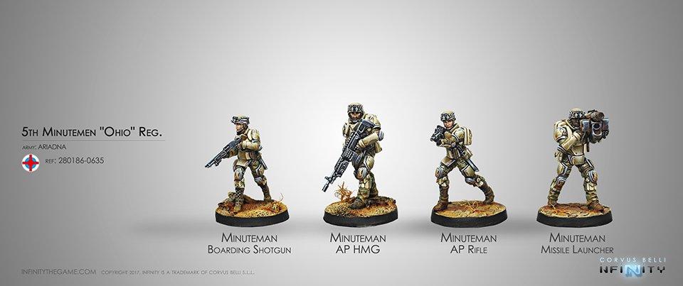Inf - Ariadna - 5th Minutemen Reg.