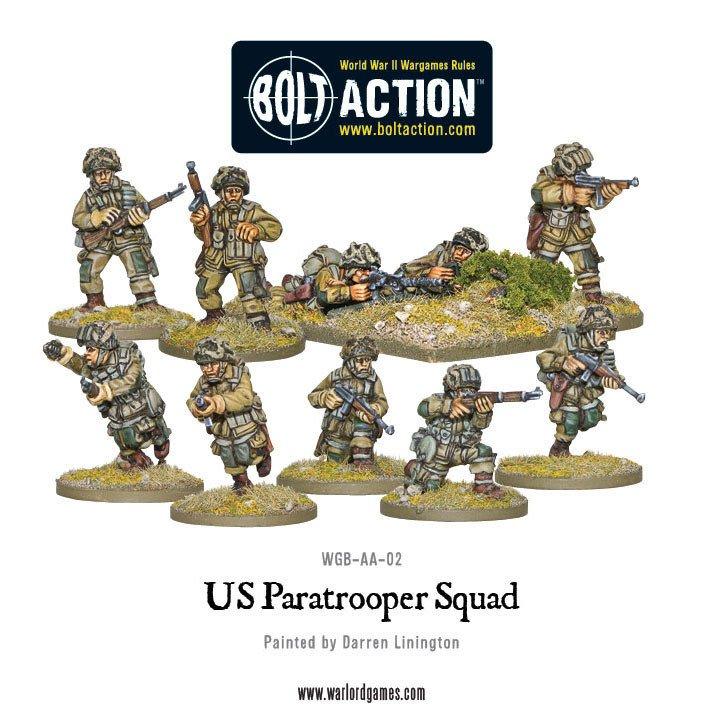 BA - US Airborne squad