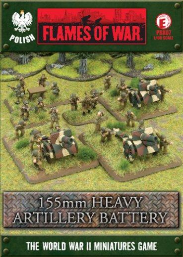 FoW - PL - 155mm Heavy artillery battery
