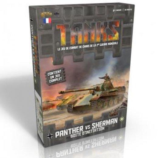 Tanks - boite d'initiation Panther vs Sherman