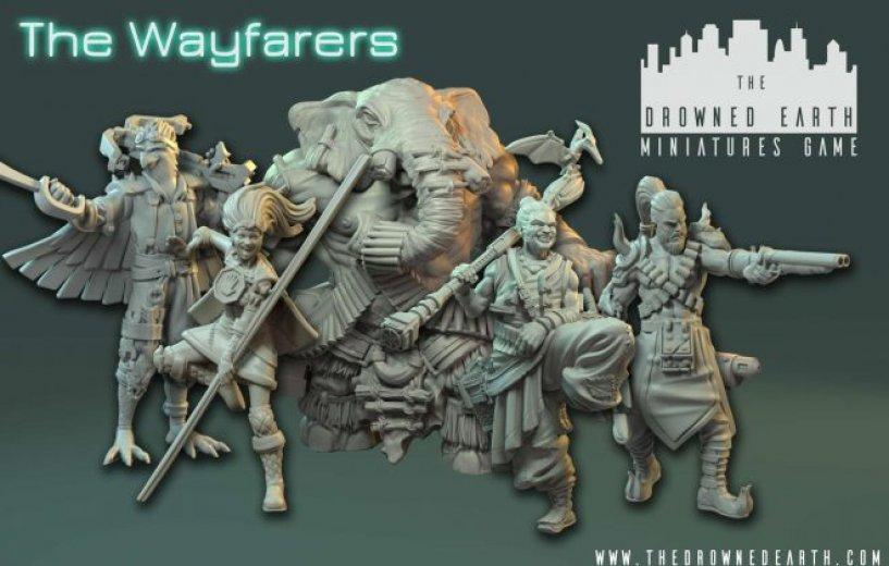 The Drowned Earth - Starter Set Wayfarers