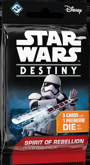 Star Wars : Destiny - Spirit of Rebellion boosters (en)