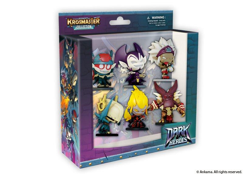Krosmaster : Pack Dark Heroes
