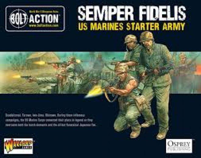 BA - US - Semper fidelis (US marines starter army)