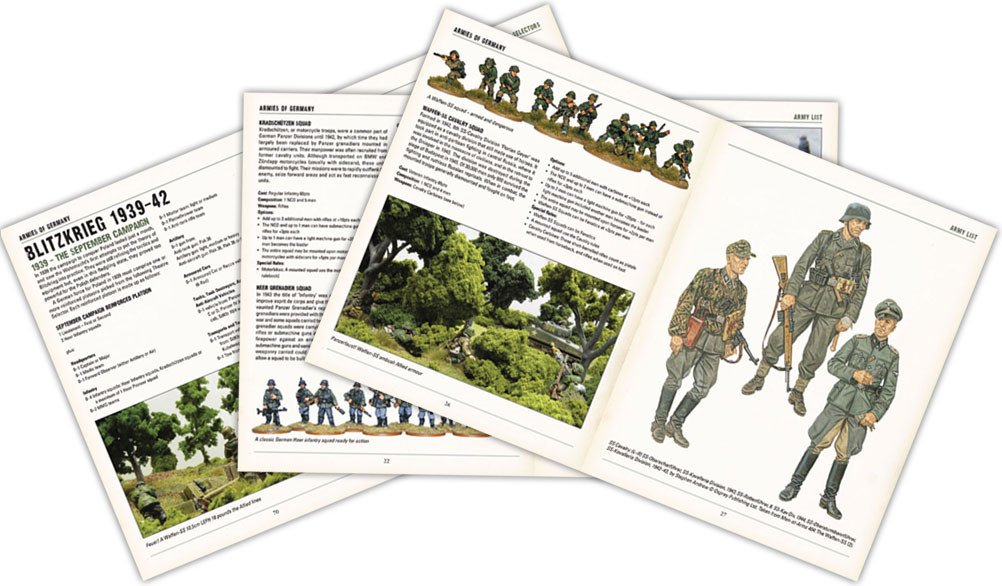 BA - Armies of Germany rulebook second edition