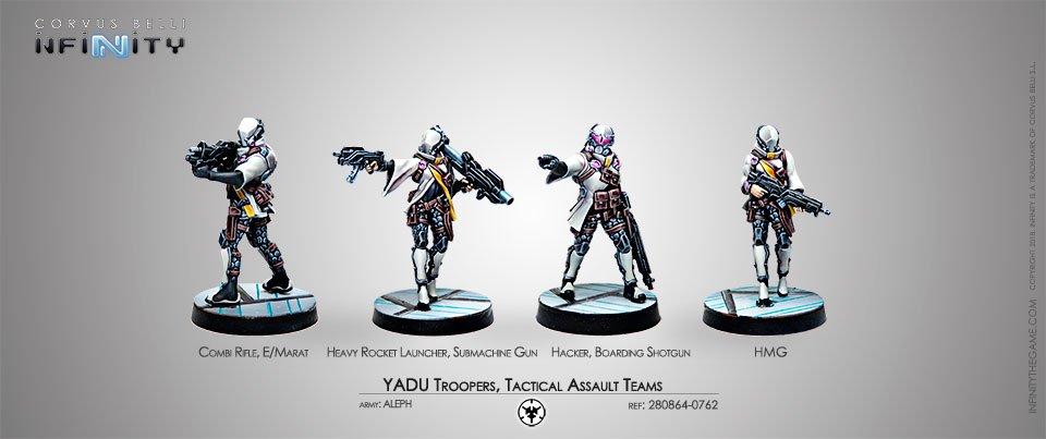 INF - Aleph - Yadu Troops