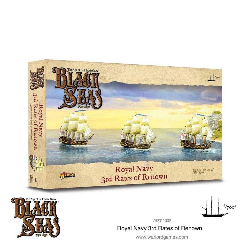 Black seas : Royal Navy 3rd rates of renown