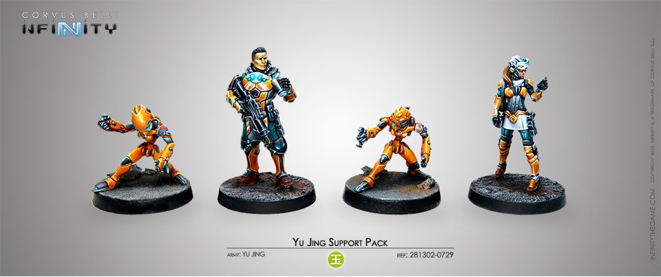 Inf - Yu Jing - Support pack