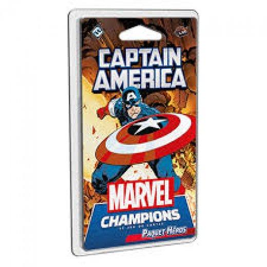 Marvel Champions - Deck Captain America