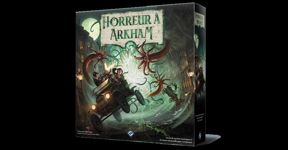Horreur à Arkham jeu de plateau 3e édition