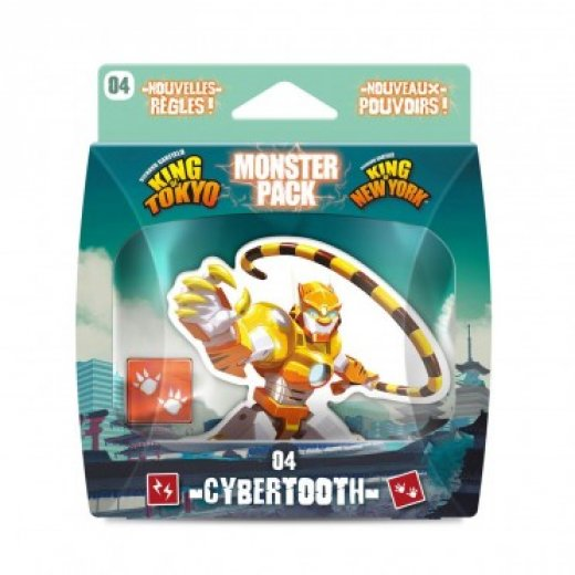 King of Tokyo/New-york :  Cyberthooth (monster pack)