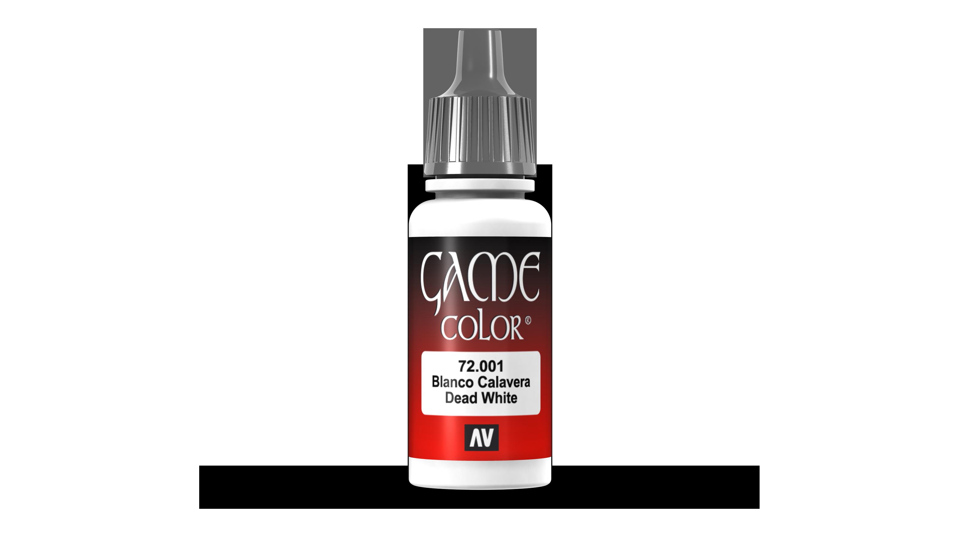 Game color - Dead white
