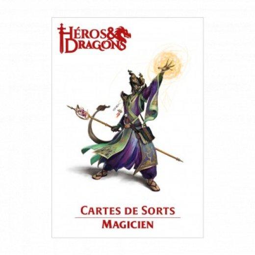 Héros & Dragons : carte de sort - magicien