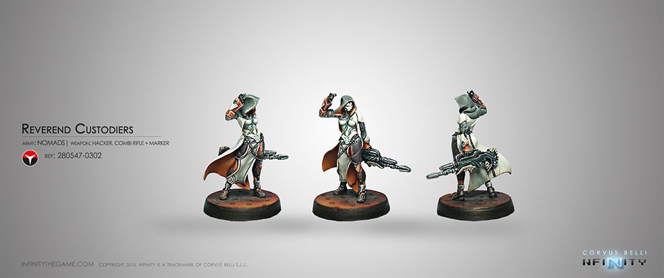 Inf - nomads - Reverend Custodiers (Hacker, Combi Rifle + Marker)