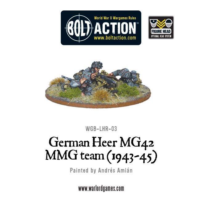 BA - German - German Heer MG42 MMG team (1943-45)