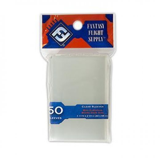 Protège carte FFG Mini european 44x68mm x50 transparent