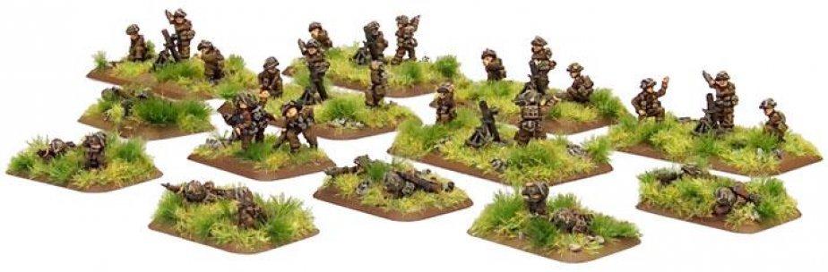 FoW - GB - Mortar platoon