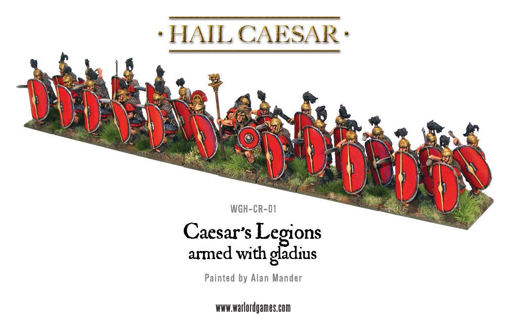 HC - Caesar's legions